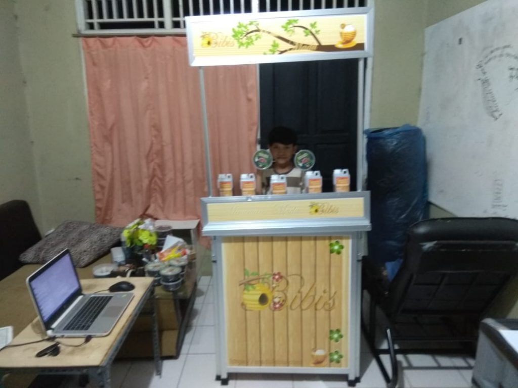 Paket Kemitraan Booth Madu Bibis