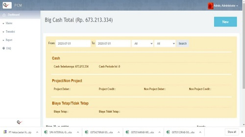 Jual Aplikasi Project Cost Management